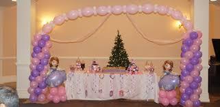 Princess Balloon Decoration Balloon Arches Spiral Columns Centerpieces For Parties In