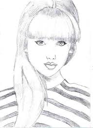 Small Picture Taylor Swift Picture Coloring Page Color Luna