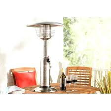 patio table top heaters tabletop patio heaters