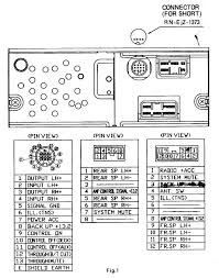 mazda car radio stereo audio wiring diagram autoradio connector wire installation schematic schema esquema de conexiones stecker konr connecteur cable