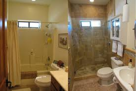 Collection In Bathroom Remodeling Ideas Before And After With - Small bathroom renovations