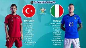 PES 2020 • Turchia 🆅🆂 Italia EURO 2020