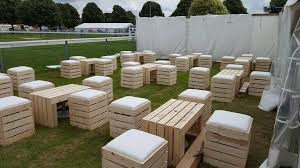 pallet crate furniture. Outdoor Crate / Pallet Furniture Hire