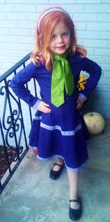 daphne scooby doo little girls costume