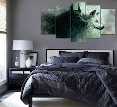 Superior Wolf Themed Bedroom Inspirational Bedroom Decor Inside Measurements 1000 X  916