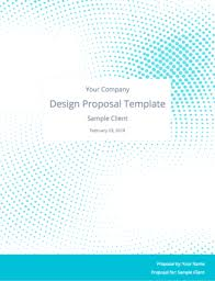 design proposal layout the perfect graphic design proposal template and bonus bundle