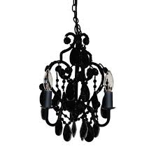 small black chandelier for bedroom