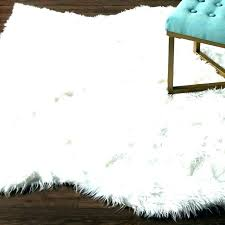 faux fur area rugs white rug sheepskin she