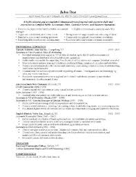 Qc Resume Samples Qc Clerk Resume Curriculum Vitae Cv Samples And Writing Tips