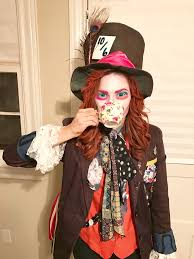 mad hatter costume diy jacket diy hat makeup