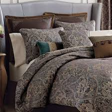 croscill king comforter sets best of croscill zarina brown blue west coast cal king forter