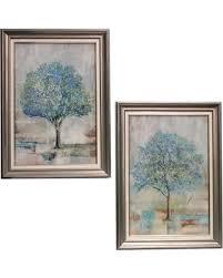 urban designs april bloom 2 piece tree framed wall art on 2 piece framed wall art with new savings are here 66 off urban designs april bloom 2 piece tree