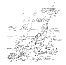 Donald Duck Kleurplaat Disney Kleurplaat Animaatjesnl