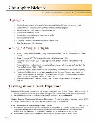 Resume Best Of Elementary Teacher Resume Template Elementary
