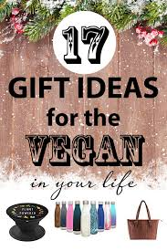 if you have vegan friends or family members they would love gifts that help them on their journey