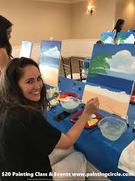 private painting classes in gilbert arizona for birthday parties and