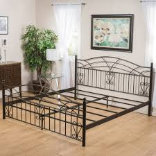 Wrought Iron Bed Frames King — Ccrcroselawn Design : Classic and ...