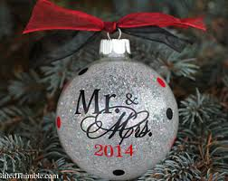 First Christmas Married Ornament – Happy Holidays!