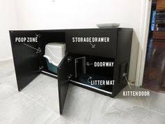 ikea cat furniture | DIY Cat Box Cabinet- evanandkatelyn.com