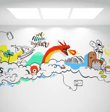 art for office walls. Dragon In Chennai Napier Bridge Wallart, Metro Station Art For Office Walls