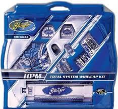stinger swckh44 4 gauge multi amplifier kit car audio capacitor stinger swckh44 4 gauge multi amplifier kit car audio capacitor