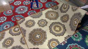 tommy bahama medallion indoor outdoor rug on qvc