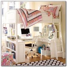 Image Pretty Bunk Bed Desk For Girls Beds Home Furniture Design Pinterest Bunk Bed Desk For Girls Beds Home Furniture Design Maddys