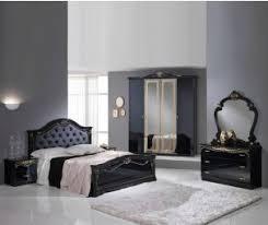 buy italian furniture online. Ben Company Eva Black With Gold Bed Group Set 4 Door Wardrobe Buy Italian Furniture Online G