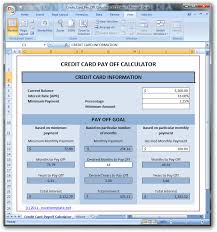 Download Credit Card Payoff Calculator 1 11