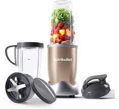 NutriBullet 900W Blender Champagne Multi-Function Cold Beverage Smoothie  Maker – 2 Cup Sizes and Stay Fresh Lid: Amazon.co.uk: Kitchen & Home