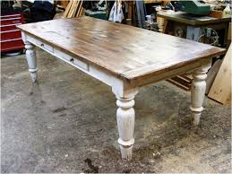 narrow farmhouse dining table round farmhouse dining table new throughout the incredible rustic farmhouse dining room