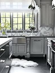 Dark Grey Kitchen Cabinets Be Afraid Of Gray With Deep Light Wood