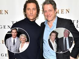 Hugh grant, british actor best known for his leading roles as the endearing and funny love interest in romantic comedies. Matthew Mcconaughey Sets Up Mom 88 With Hugh Grant S Dad 91