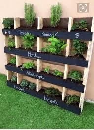 wooden pallets vertical pallet garden