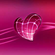 Free download 3d Pink Heart iPad ...