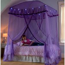 purple bedroom furniture. Perfect Furniture Sparkling Lights Canopy Throughout Purple Bedroom Furniture
