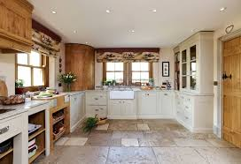 Kitchen Ideas Kitchen Country Decorating Idea Using L Shaped White