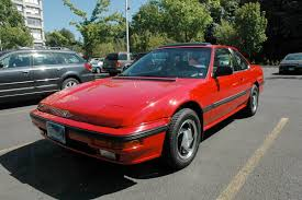 OLD PARKED CARS.: 1988 Honda Prelude SI.