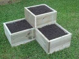 building a garden box. How To Build A Tiered Garden Box (attractive Make Building