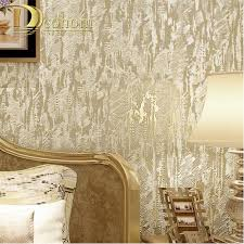 modern flocking abstract embossed sandstone textures wallpaper for