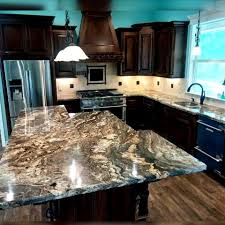stone kitchen countertops. Countertops Made With A Natural Stone ( Granite,Marble )need To Be Sealed, Are Quite Popular In High-end Kitchens. Gives Sense Of Beauty And Kitchen