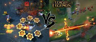 esports exploration what makes dota2 and lol different