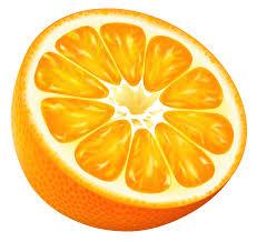 orange clipart png. pin grapefruit clipart half orange #3 png