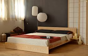 Image Flat Low Oriental Bed Base Natural Bed Company Japanese Beds Bedroom Design Inspiration Natural Bed Company