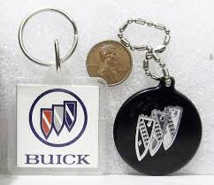 buick motor division keychain