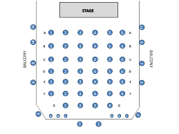 Az Broadway Theater Seating Chart Seating