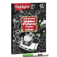 Find lost, stolen, or hidden artifacts and work through puzzles. Christmas Hidden Pictures Puzzles To Highlight Highlights For Children