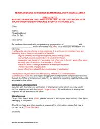Letter Of Termination Of Employment Layoff New Employee Absconding