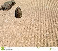 Japanese Rock Garden Japanese Rock Garden Stock Photo Image 52091053