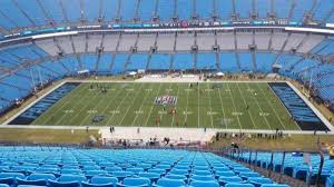 Bank Of America Stadium Section 514 Row 33 Home Of